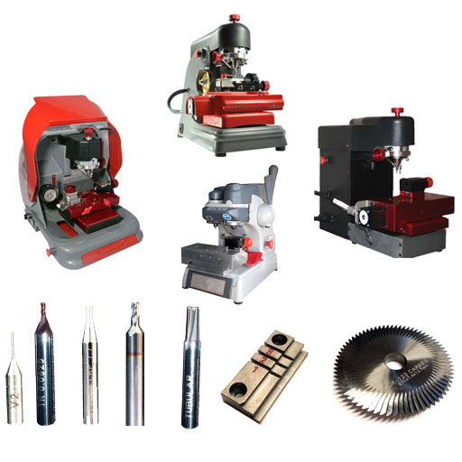 Key Machine Parts